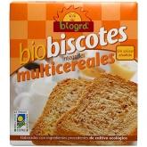 Biscotti multicereali BIO senza zucchero Biográ, 270 g