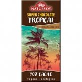 Cioccolato Tropical 60% cacao Natursoy, 100g