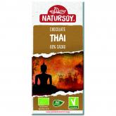 Cioccolato Thai con latte di cocco 60% cacao Natursoy, 100g