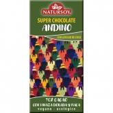 Cioccolato Andino con semi di lino e maca 70% cacao Natursoy, 100 g