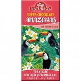 Cioccolato Amazonas Acai e lampone 70% cacao Natursoy, 100 g