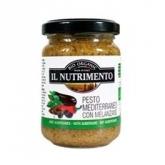 Pesto Mediterráneo BIO Il Nutrimento, 130 g