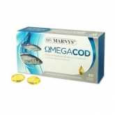 MARNYS cod liver oil 510mg 60 capsules