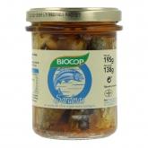 Sardine in olio d'oliva vergine Biocop, 180g
