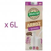Pack Bibita di Riso e Quinoa Biocop 6L