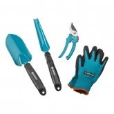 Equipamento básico ferramentas de jardim Gardena