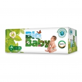 Couches BIO BABY (9-13 kg) 34 pièces