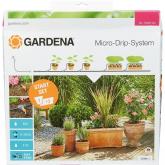 Set de rega automática jardineiras Gardena