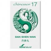 Chinasor 17  Dan Shen Wan Soria Natural, 30 comprimidos