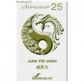 Chinasor 25  Jian Fei Wan Soria Natural, 30 comprimidos