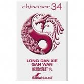 Chinasor 34  Long Dan Xie Gan Wan Soria Natural, 30 comprimidos