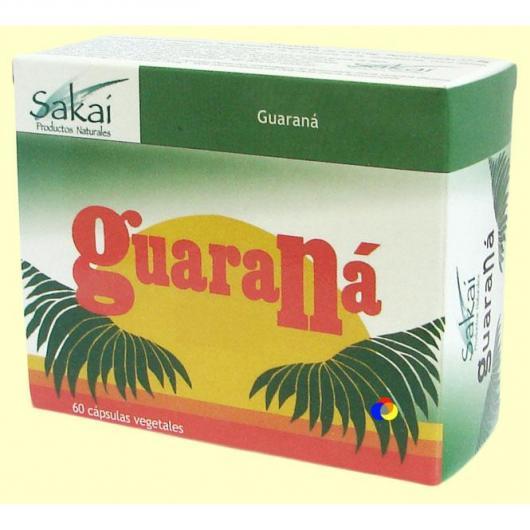 Guaraná 60 cápsulas vegetales Sakai