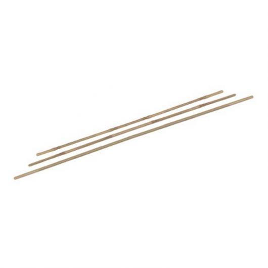 Lot de 5 tuteurs en bambou naturel 120 cm