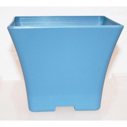 Pot en plastique bleu pour pré-bonsaï