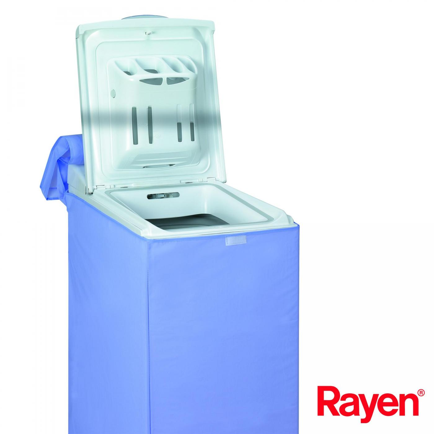 Housse pour machine laver avec ouverture sur le dessus rayen par 5 95 sur - Rangement au dessus machine a laver ...
