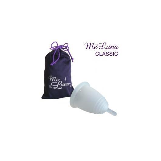 MeLuna coupe menstruelle Classic extrémité transparente