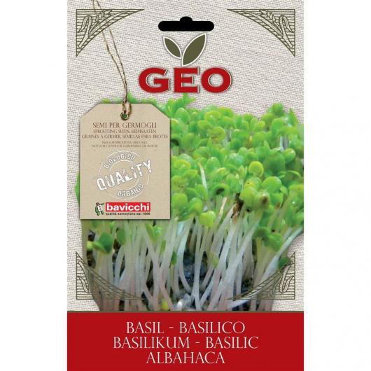 Semillas germinado Albahaca, bavicchi GEO, 5g