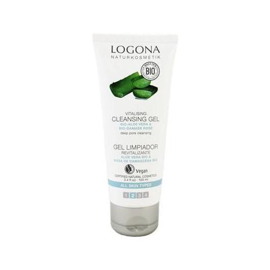 Gel limpiador aloe bio Logona, 75 ml