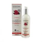 Leite limpadora rosas aloe bio Logona, 125 ml