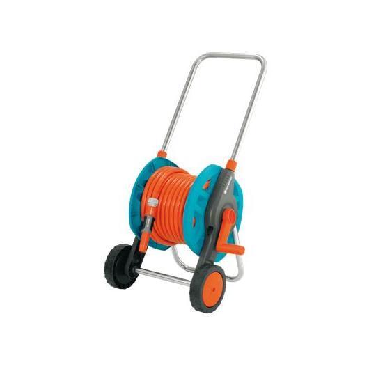 Carro portamanguera metálico equipado GARDENA