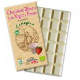 Chocolate blanco con yogurt y fresa SOLÉ, 100g