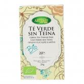 Tè verde senza teina Artemis, 20 bustine