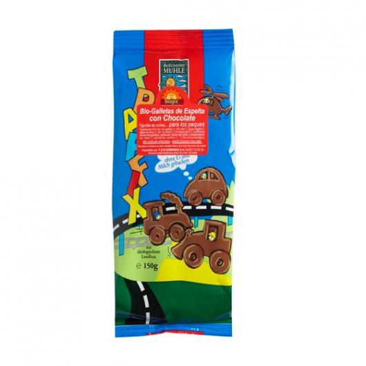 Biscotti di Spelta cioccolata+miele Pesques Biográ 150gr