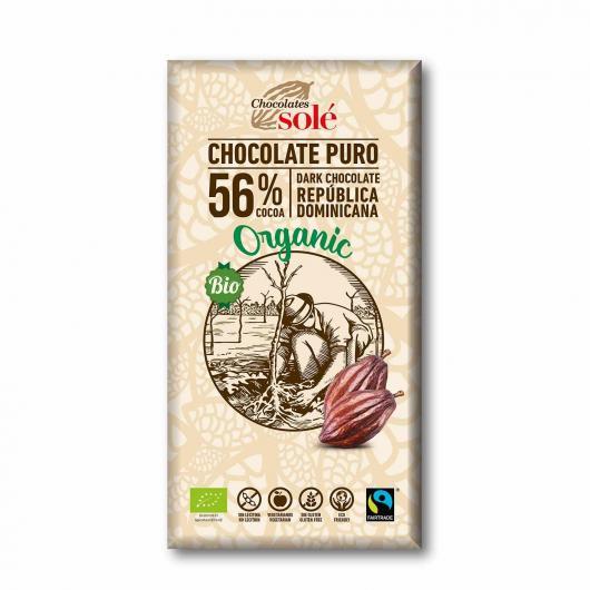 Cioccolato fondente 56% Solé, 100g