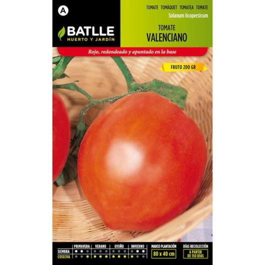 Semillas de  Tomate Valenciano