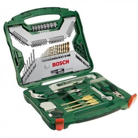 Valigetta Bosch X-line di 103 pezzi per trapani e avvitatori