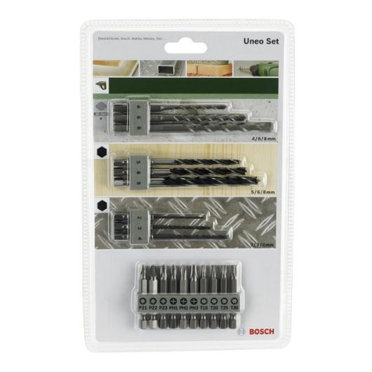 Set di accessori per Bosch Uneo: 19 unità