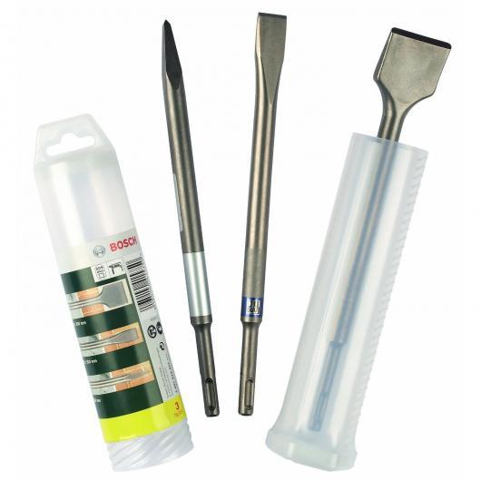 Set di 3 scalpelli SDS-Plus Bosch