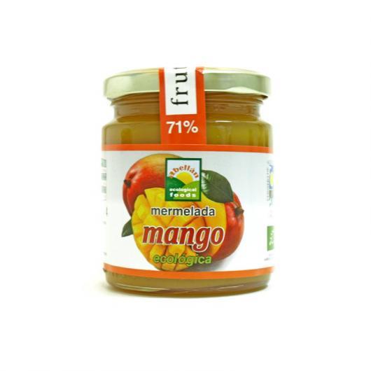 Mermelada de mango con stevia Abellán, 235g