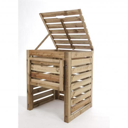 Compostiera di legno Bolero