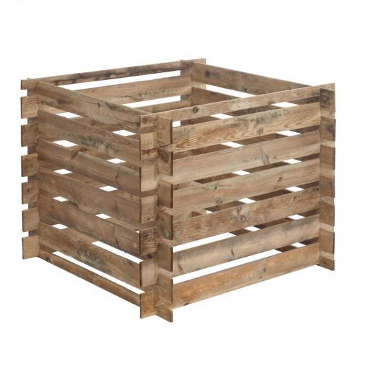 Composteur en bois Mezzito