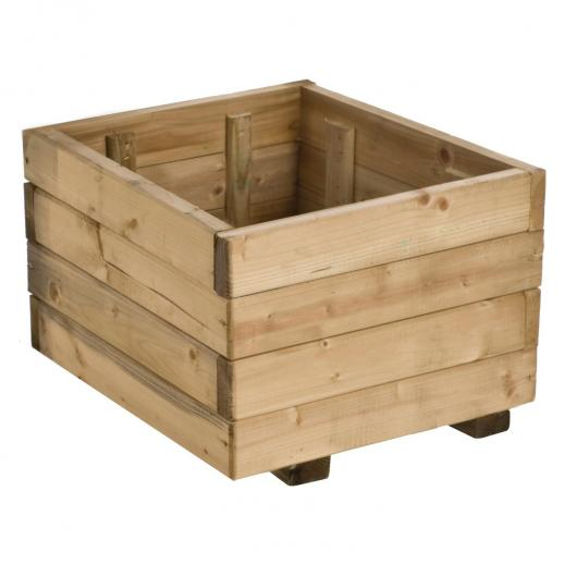 Jardinière carrée en bois 30 L