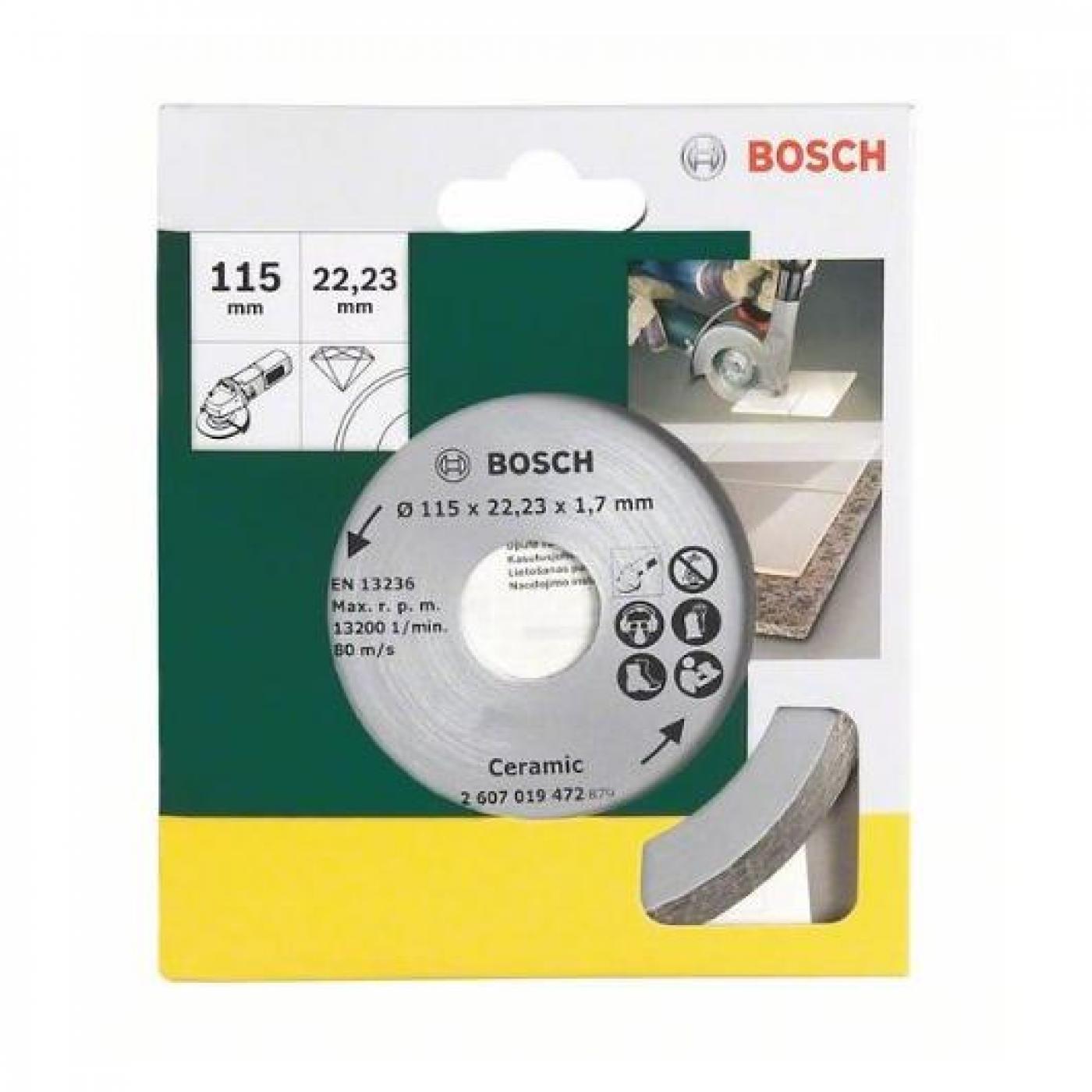 Disco di taglio diamante per piastrelle 115mm per 11 03 - Disco taglio piastrelle ...