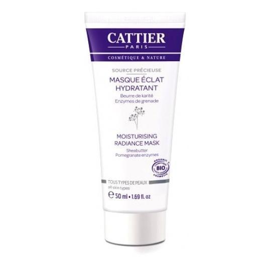 Masque hydratant illuminateur Cattier, 50 ml