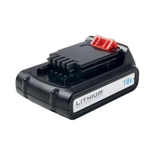 Batterie lithium 18 V/1,5 Ah Black & Decker