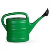 Regador de plástico cor verde especial jardim, 10 L
