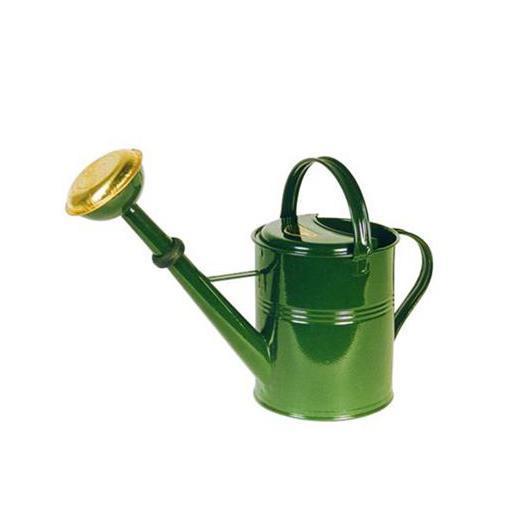 Regadera Zinc Metal verde 4L