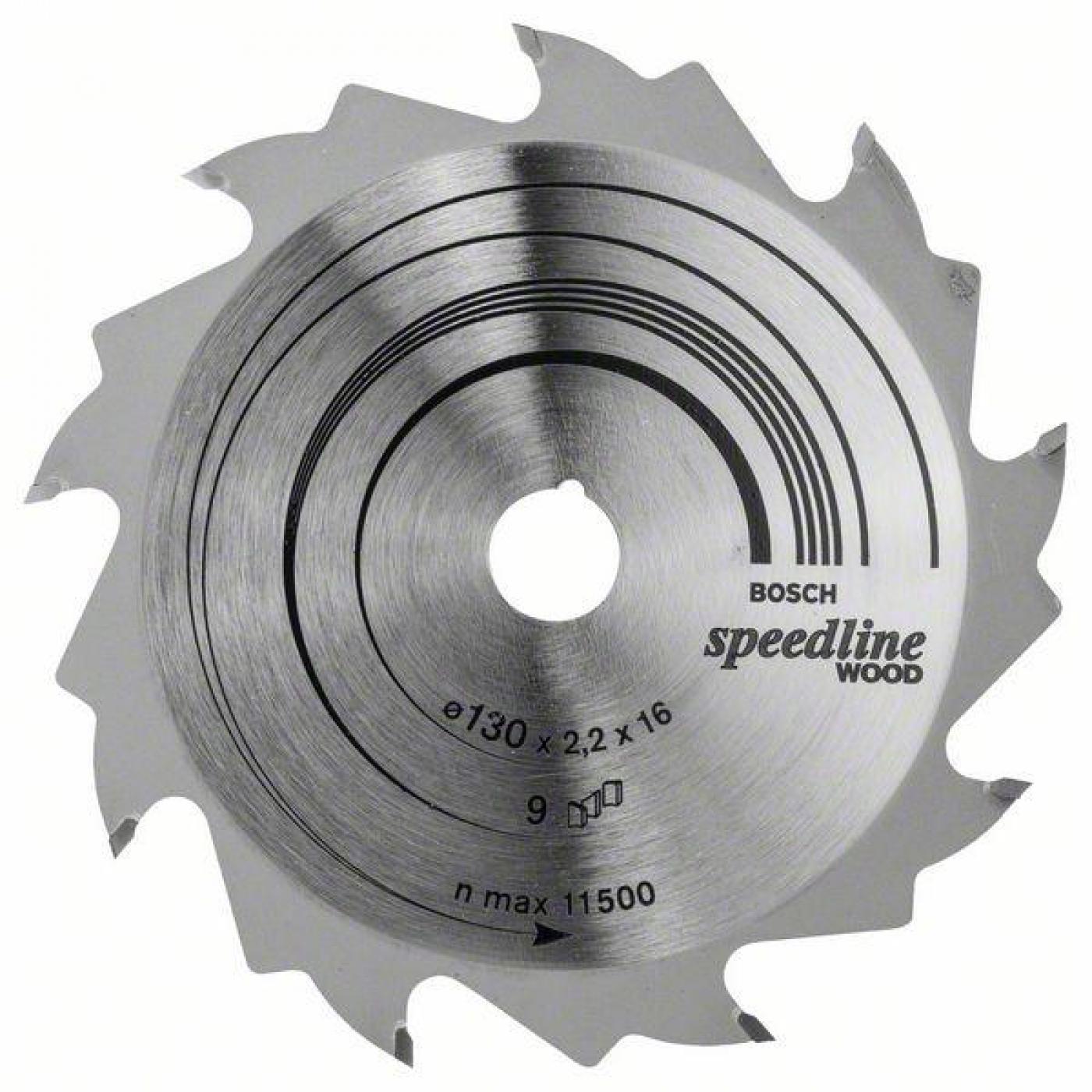 Disco corte madera para sierra circular 130x16 mm por 21 - Sierra circular madera ...