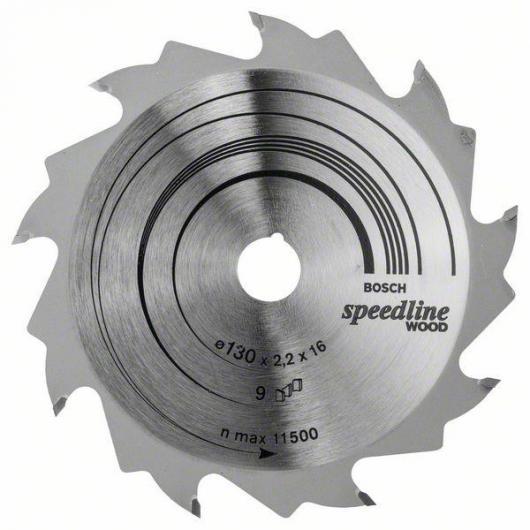 Disco da taglio legno per sega circolare 130x16 mm