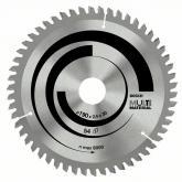 Disco corte multimaterial para Sierra circular 190x30 mm