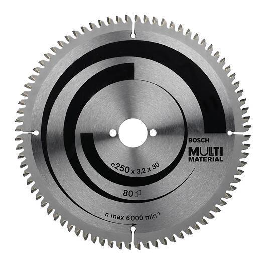 Disco da taglio multimateriale per sega circolare 250x30 mm