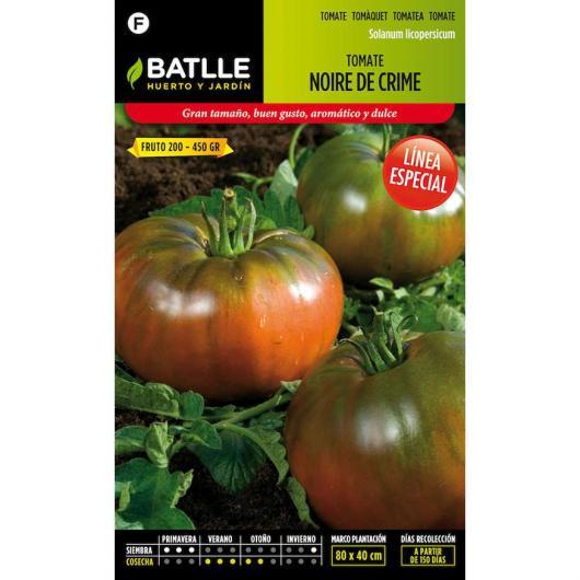 Semillas de  Tomate Noire de Crime