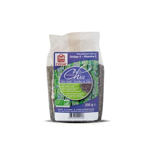 Graines de Chia bio Celnat, 250 g
