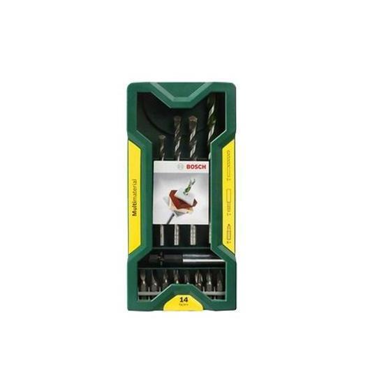 Lot Bosch Mini X-Line de 14 pièces multifonction pour perforage et vissage