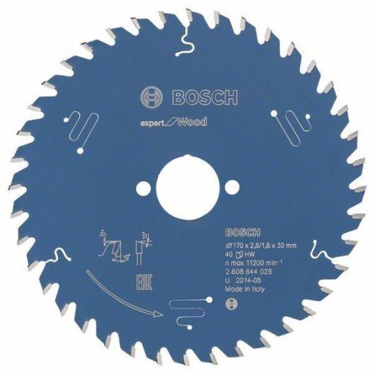 Disco corte madera para Sierra circular 170x30 mm