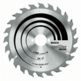 Disco corte madera para Sierra circular 184x30 mm